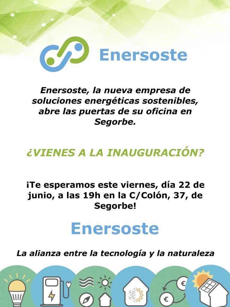Invitación inauguración Enersoste