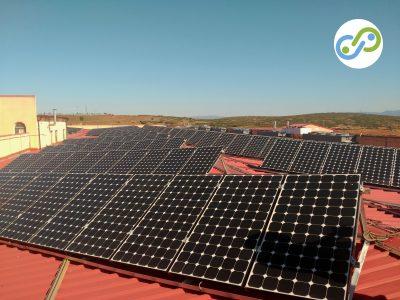 Nuestro trabajo: Revisión de instalación fotovoltaica en cubierta