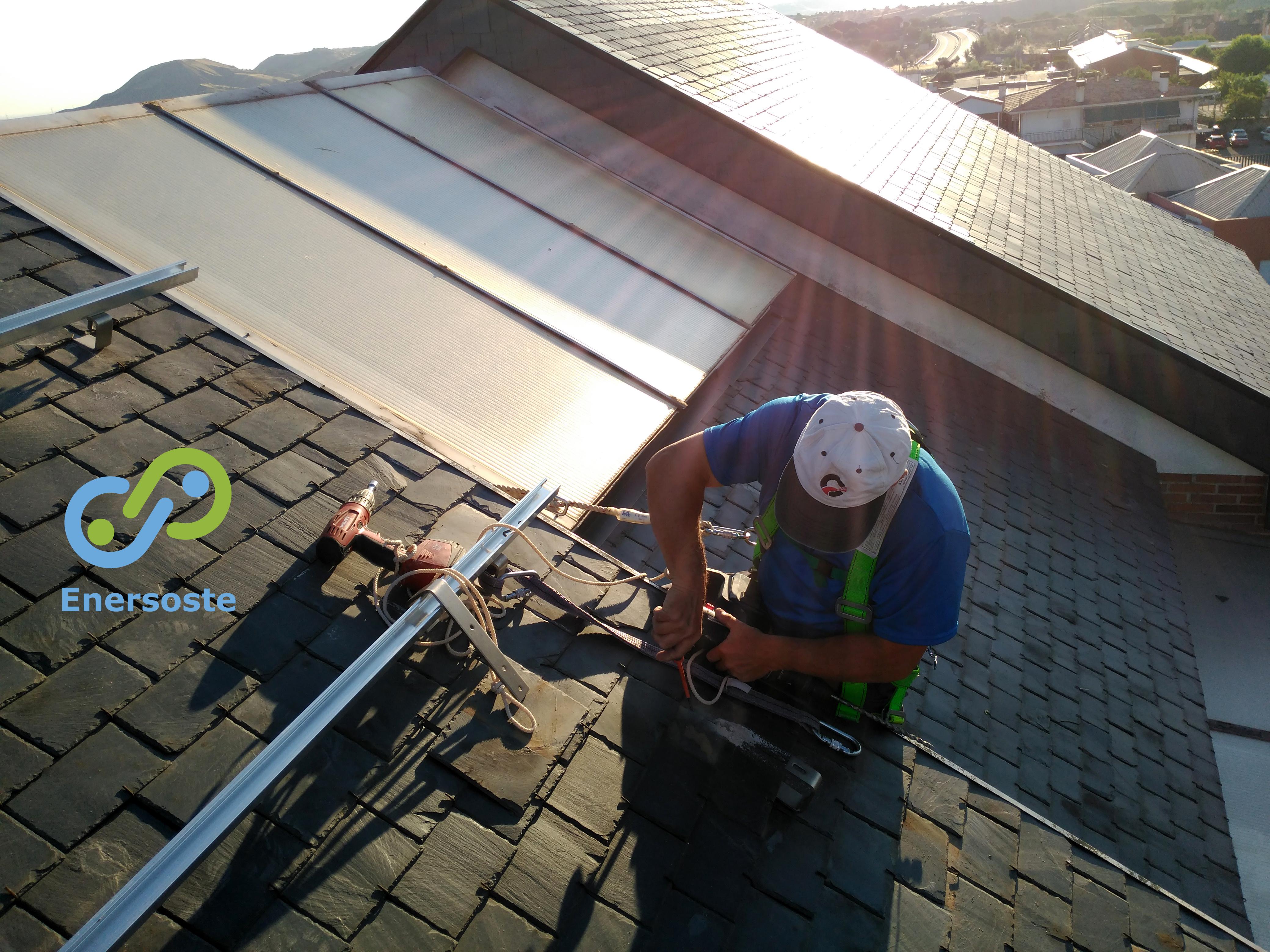 Nuestro trabajo: Instalación Fotovoltaica en vivienda