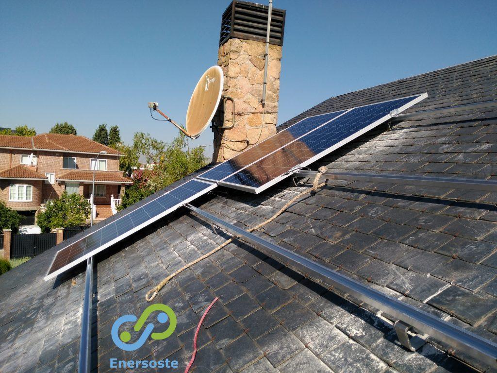 instalación fotovoltaica - paneles solares - Enersoste Segorbe Energías Renovables