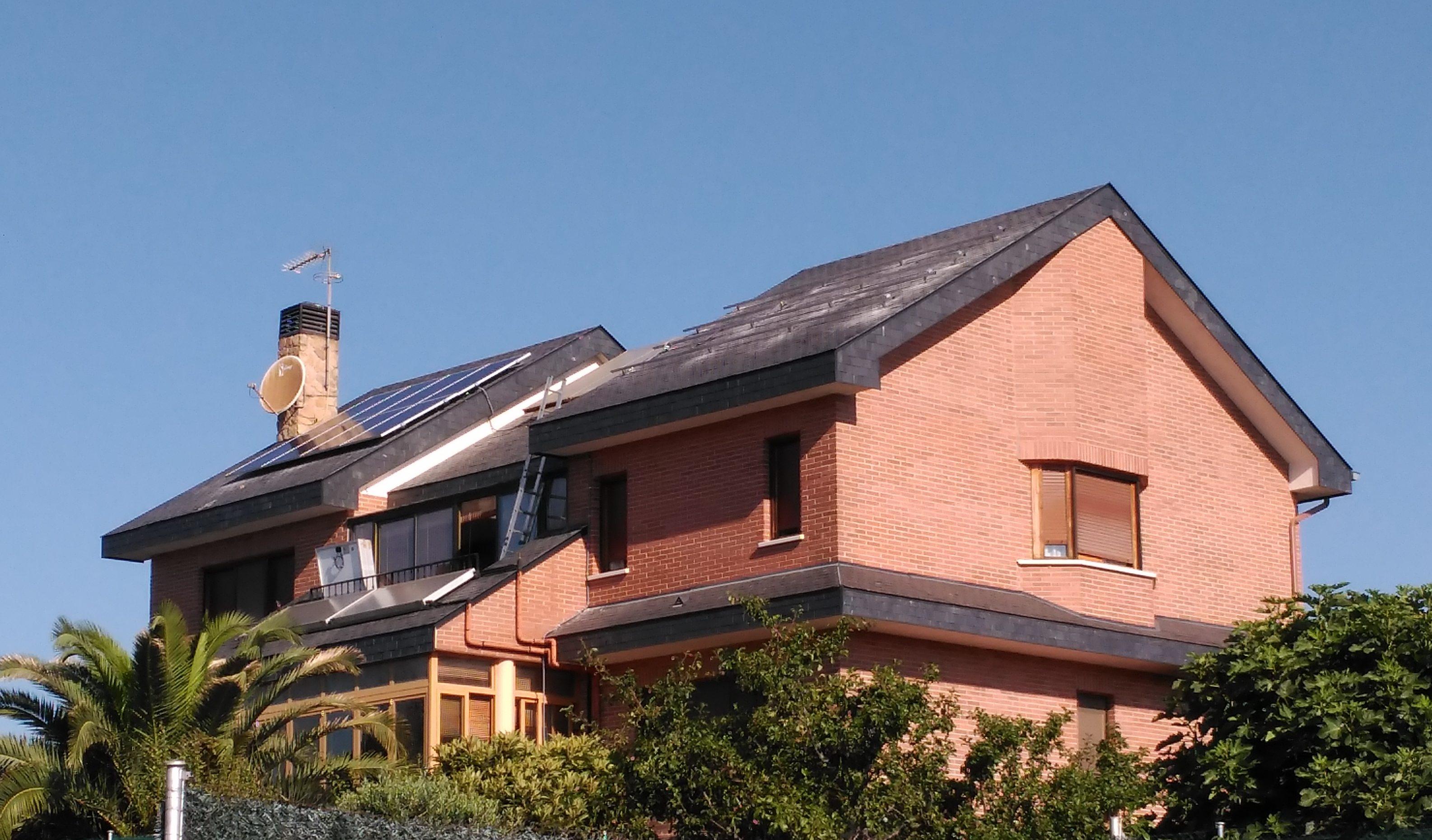 placas solares en vivienda - Enersoste Segorbe autoconsumo