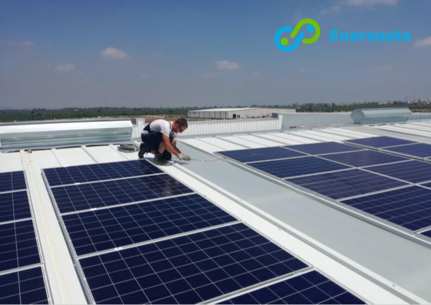 Instalación fotovoltaica en industria - Alzira 2 - Enersoste energías renovables Segorbe - placas solares Castellón