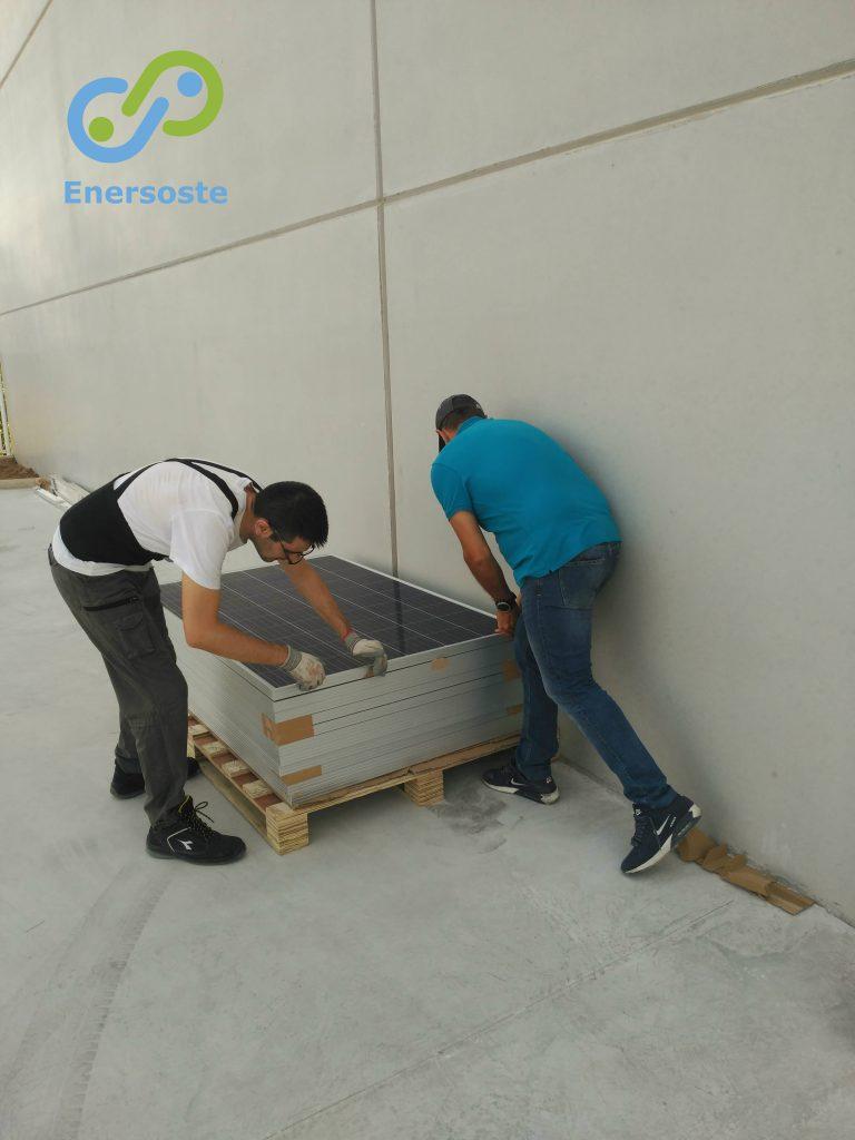 Instalación fotovoltaica - energías renovables Enersoste Segorbe - placas solares - autoconsumo energético - Placas solares Castellón