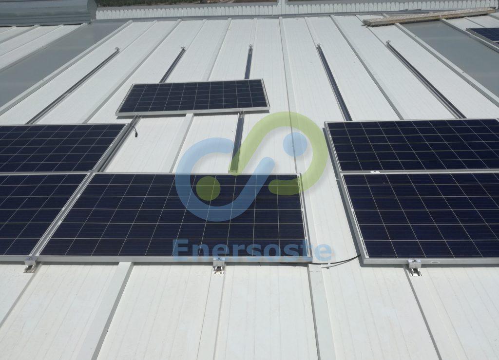 Instalación Fotovoltaica de autoconsumo en Alzira - Enersoste S.L. Energías Renovables Segorbe