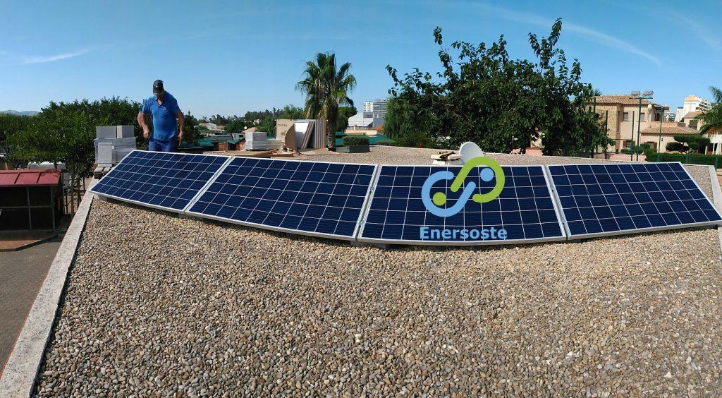 Energias renovables Segorbe Enersoste - instalacion fotovoltaica en Gandia - placas solares Castellón