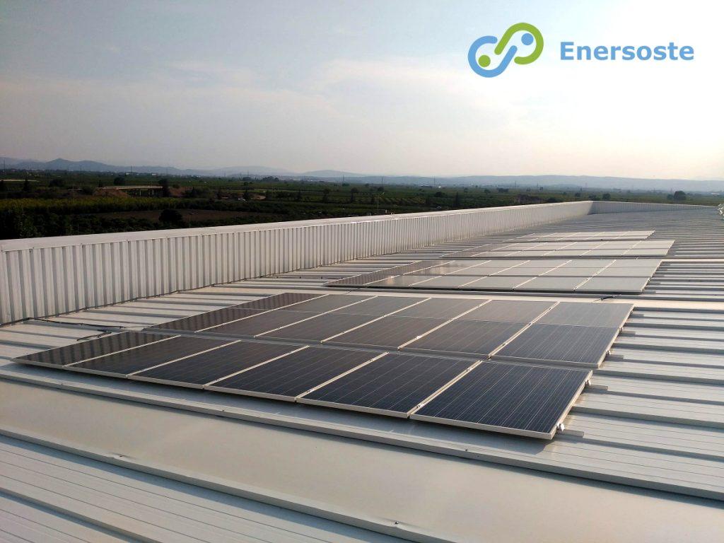 Eficiencia energética en producción. Enersoste S.L. (Segorbe, Castellón) Autoconsumo - Placas Solares - Energía Fotovoltaica