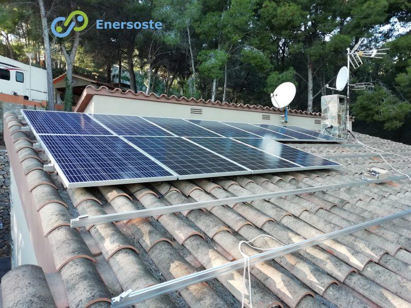 Instalación aislada de placas solares en Castellón