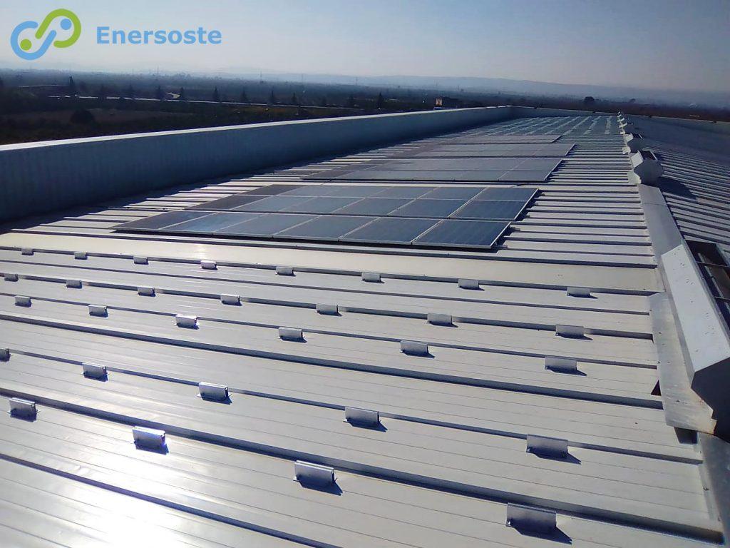 Enersoste - Energía Solar - Placas Solares Segorbe (Castellón) - Autoconsumo - Energías Renovables - Instalación de autoconsumo industrial en Alzira (Valencia)