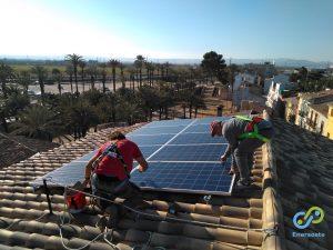 Trabajos instalación Enersoste vivienda Alzira (Enersoste. Segorbe, Castellón)