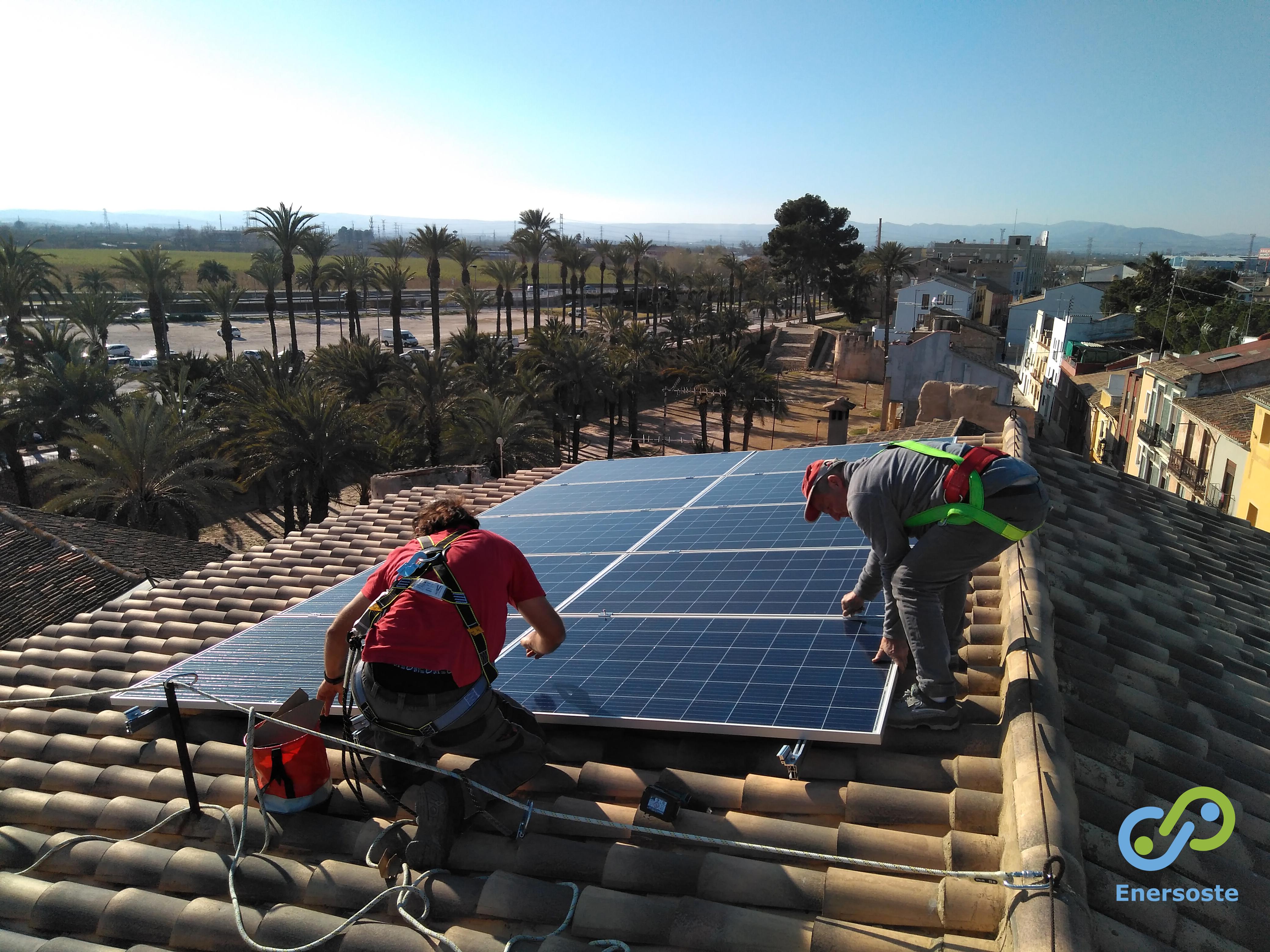 Autoconsumo con baterías en vivienda (Alzira)