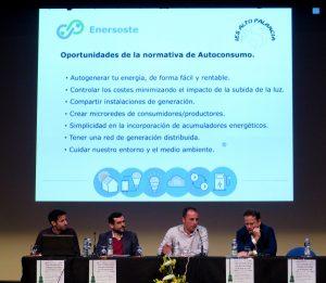 Enersoste presenta el nuevo Real Decreto de Autoconsumo en Segorbe