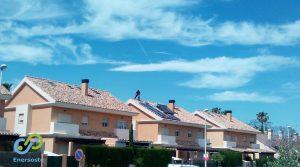 instalación de placas solares en Valencia. Enersoste Energías Renovables