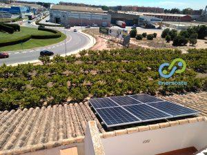 Enersoste placas solares en Albalat dels Sorells, Valencia