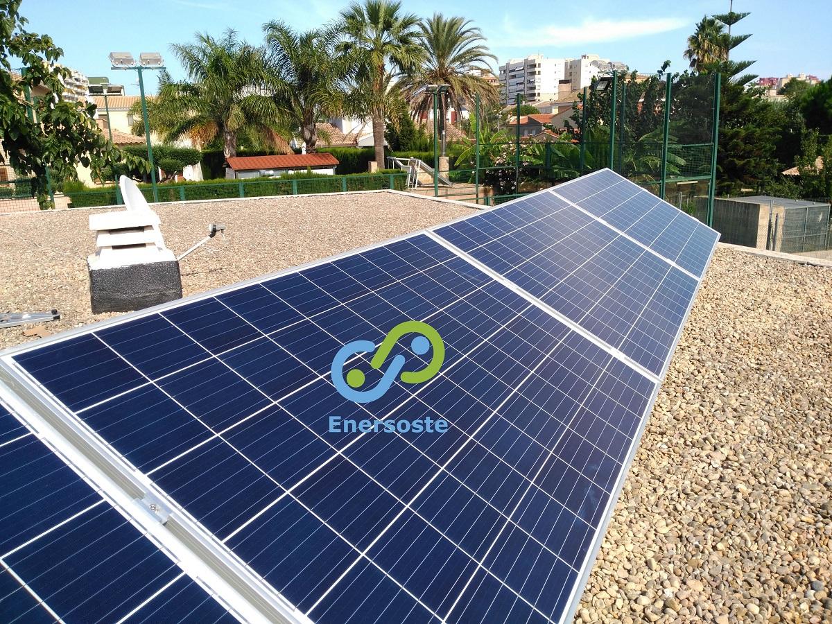 Instalacion de autoconsumo fotovoltaico - energias renovables Enersoste Segorbe - yeguada en Gandia - placas solares Segorbe (Castellón)