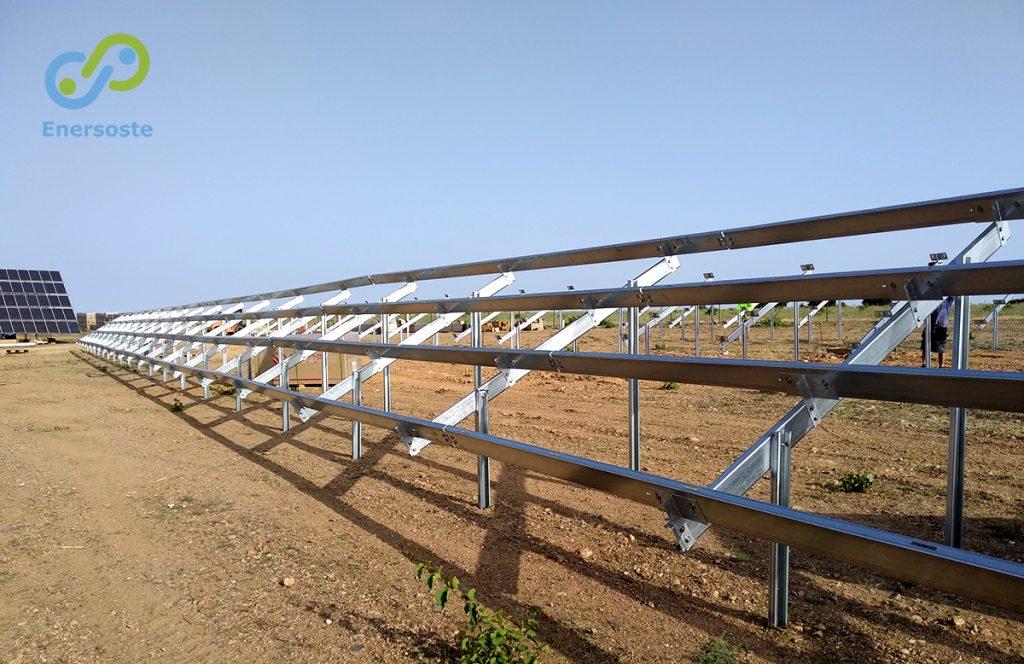 Parque solar en Zamora, Enersoste. Parques solares. Parques fotovoltaicos