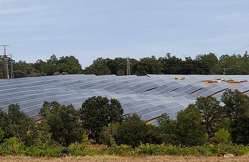 Planta solar en Villar del Buey (Zamora)