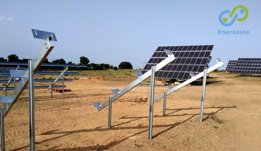 Parques solares. Parque solar Enersoste