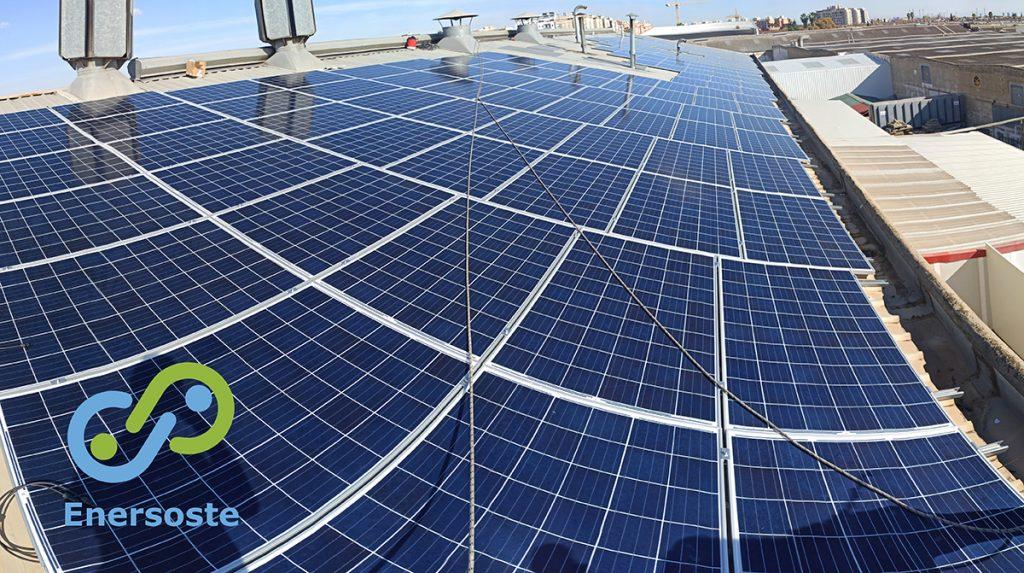 Placas solares para industria. Enersoste.