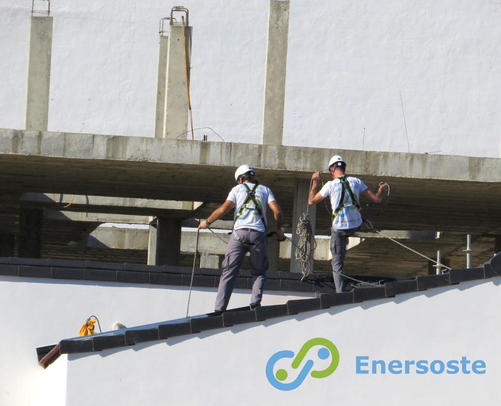 Trabajos de instalación de energía solar en Segorbe