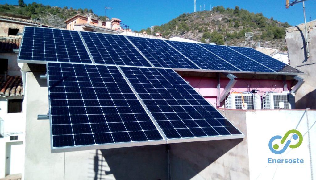 Energía solar en la Vall de Almonacid