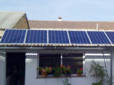 Placas solares en Segorbe