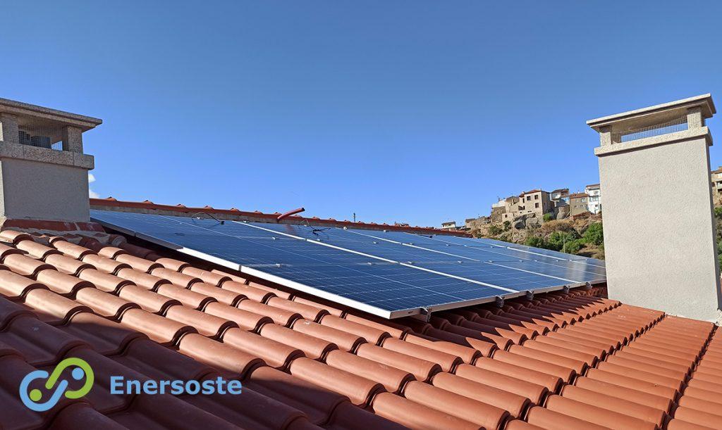 Placas solares en Zamora para vivienda unifamiliar