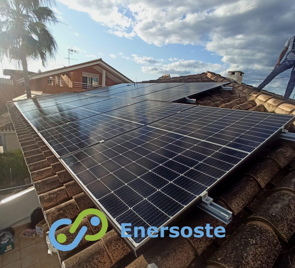 El Puig energía solar. Enersoste