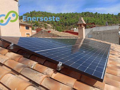 Instalación de energía solar en Gaibiel (Castellón)