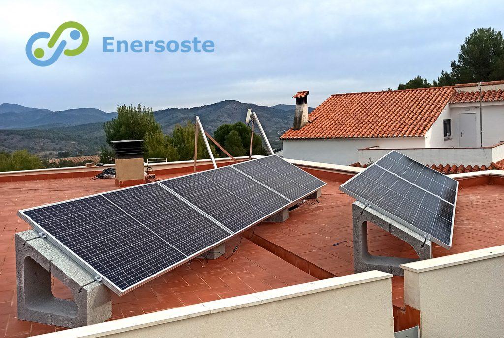 Autoconsumo solar en Algar de Palancia (Valencia). Enersoste