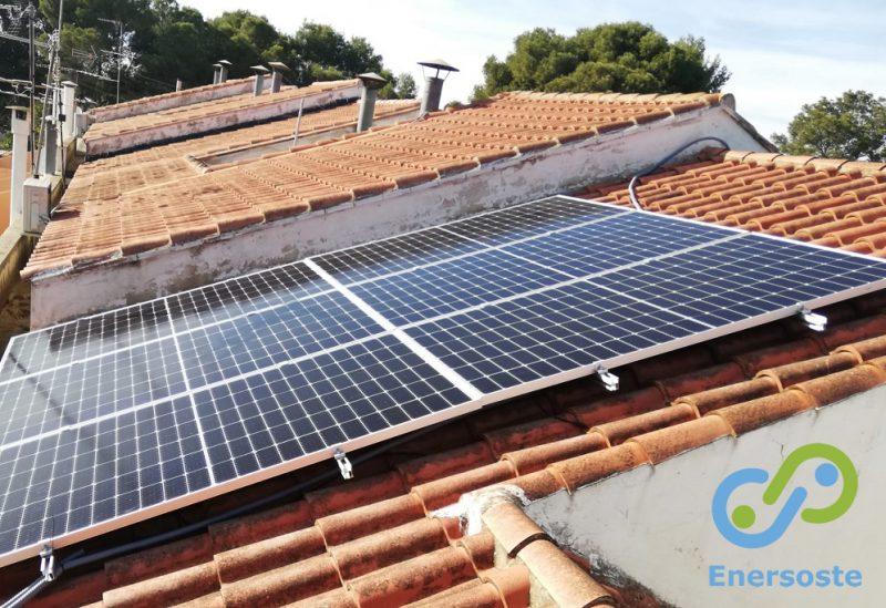 Energía solar en La Cañada, Paterna (Valencia)