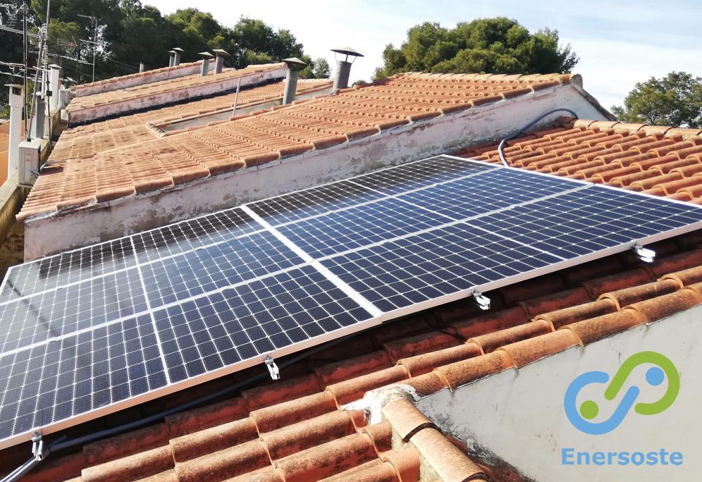 Instalación de energía solar en La Cañada, Paterna